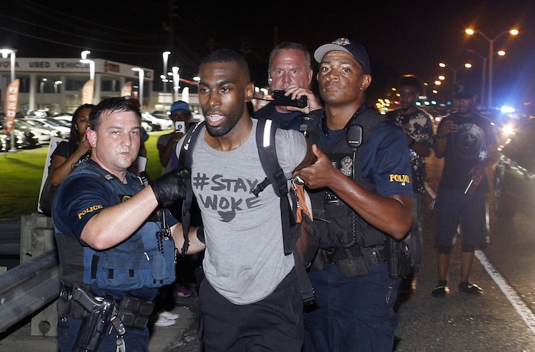 Black Lives Matter's DeRay Mckesson Released from Jail After Protest