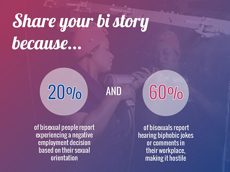 Telling Our Stories: Bi Stories Project Launches at Comic Con