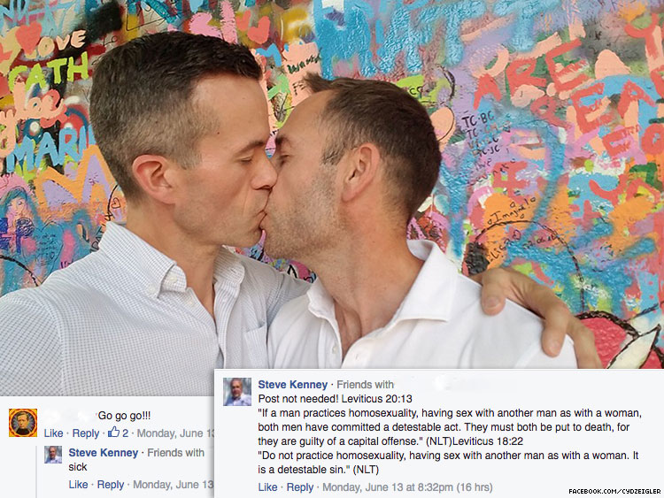 Florida school principal posts gay people must 'be put to death'