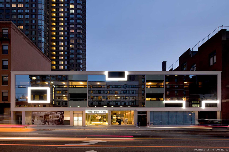 The Out Hotel at 510 West 42nd Street