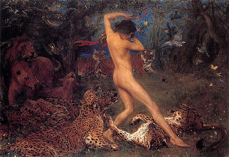 Orpheus By John Macallan Swan 1896