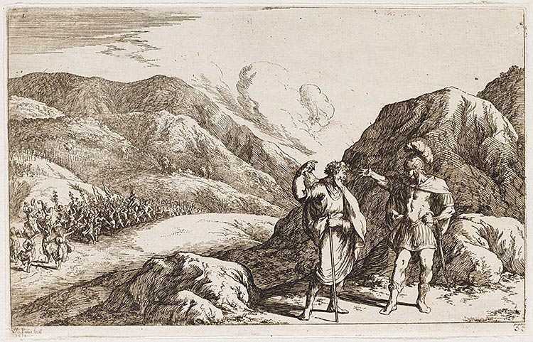 Pentheus Scorns The Prophecies Of Tiresias