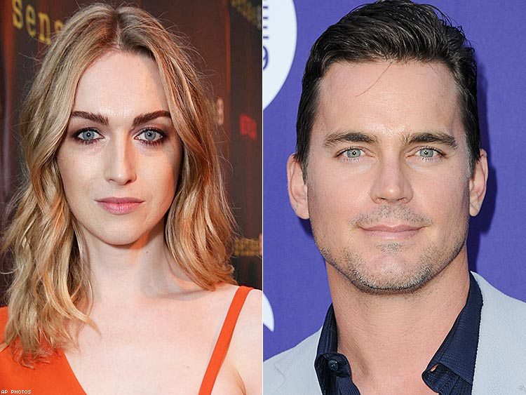 Jamie Clayton and Matt Bomer