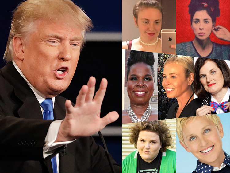7 Funny Women Respond to Donald Trump's Debate Performance