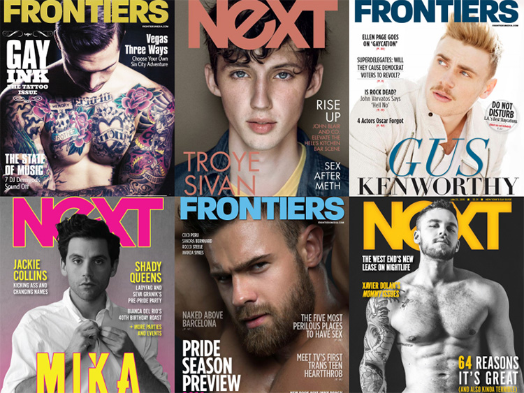 Frontiers and Next Magazine