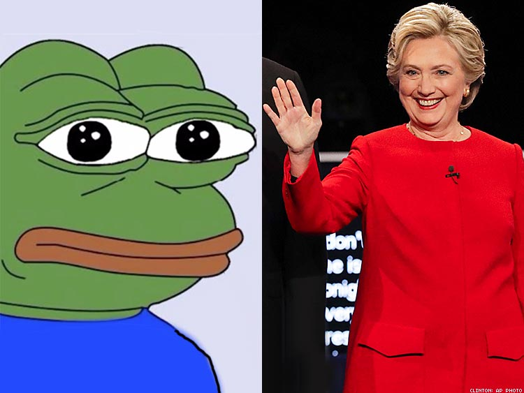 The Creator Of Pepe The Frog Is Voting For Hillary Clinton
