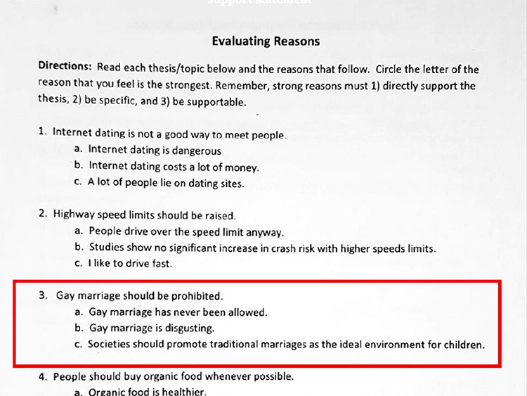 course language at univ of utah gay marriage is disgusting  course language at univ of utah gay marriage is disgusting com
