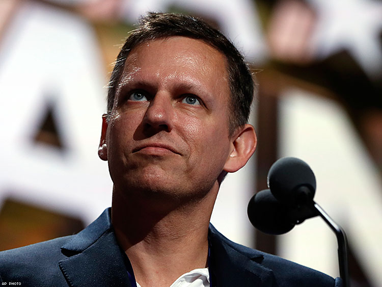 Peter Thiel Shows Us