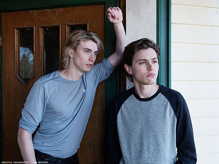 James Paxton as Lukas Waldenbeck, Tyler Young as Philip Shea