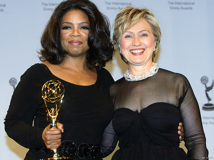 Oprah Winfrey answers why she's been so silent about Hillary Clinton