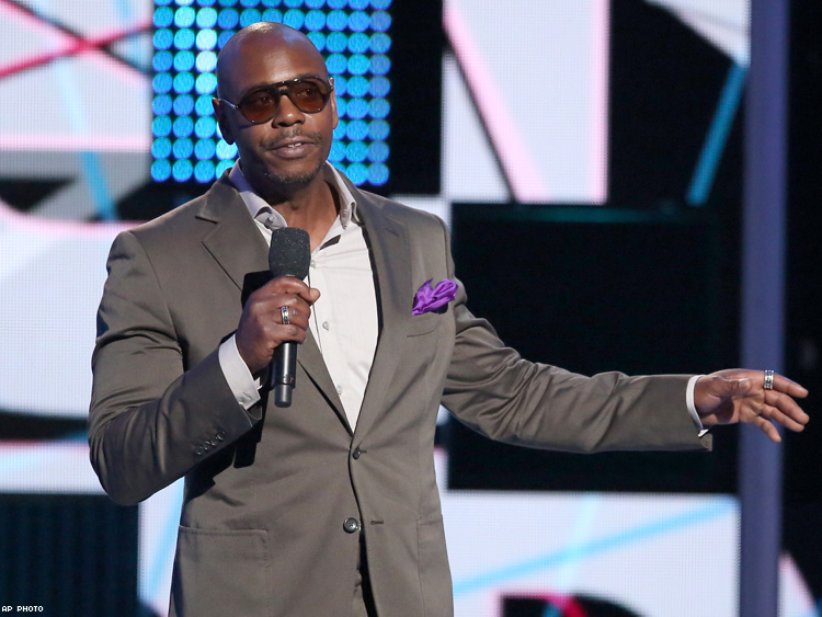 Comedian Dave Chappelle to make his 'SNL' debut Nov. 12