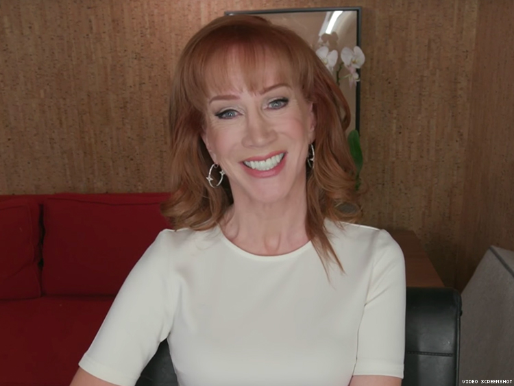 Kathy Griffin Has a Few Demands of President-Elect Donald Trump