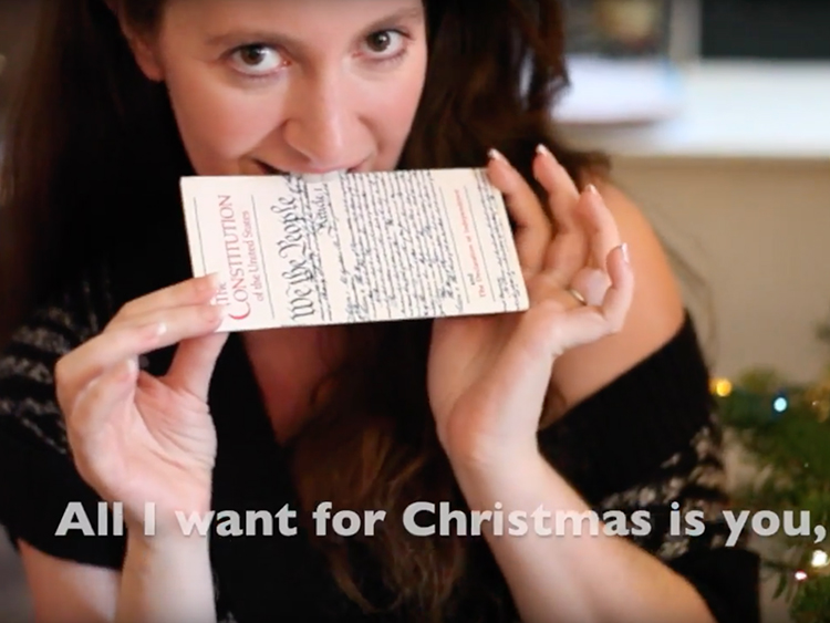 Christmas Parody.All I Want For Christmas Parody Begs Electoral College To