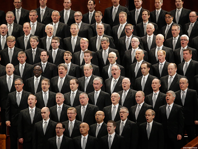 Image result for Mormon men of the Tabernacle choir