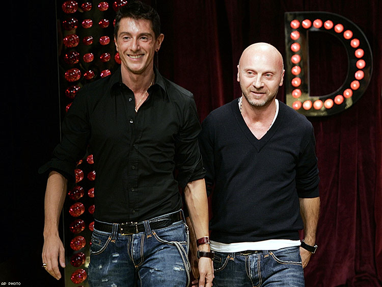 Stefano Gabbana Doesn't Want to Be Called 'Gay'