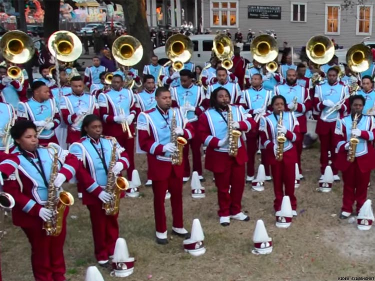 talladega college marching band