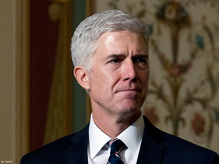 Nevada AG throws support behind Supreme Court pick Gorsuch