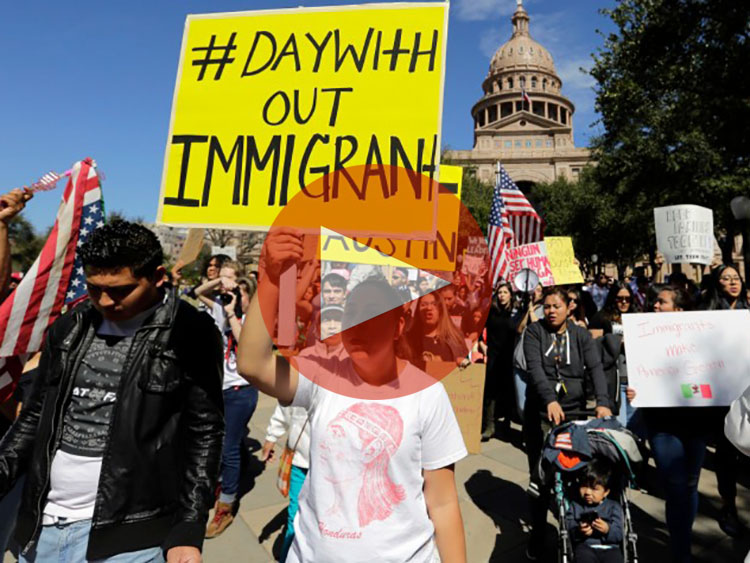 Day Without Immigrants Protest