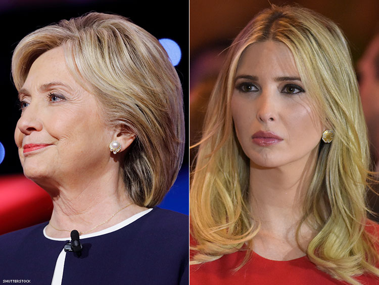 Did Ivanka and Hillary Finally Force Trump to Confront Anti-Semitism