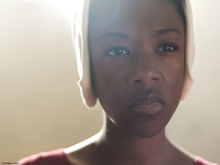 Samira Wiley as Moira in The Handmaid's Tale