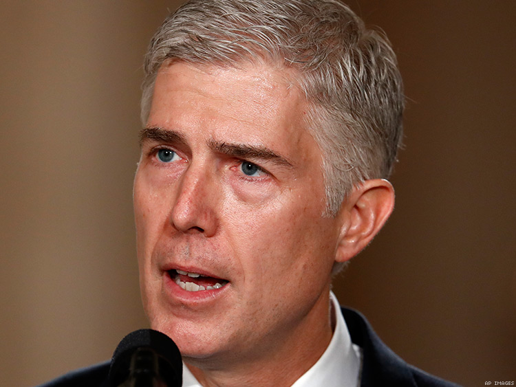 Neil Gorsuch's Gay 'Friends' Won't Save Us on the Supreme Court