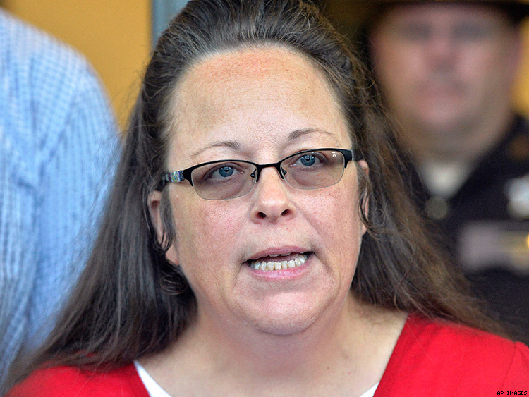 Court Rules Against ACLU's Request for Kim Davis to Pay Legal Fees