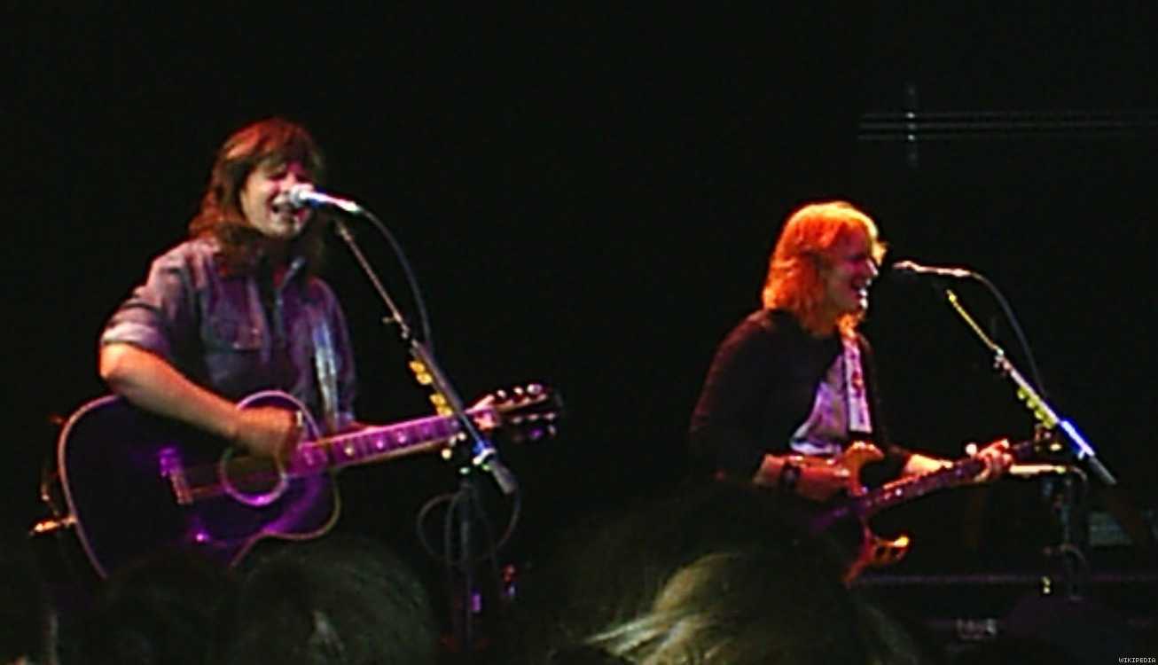 The Indigo Girls (Amy Ray and Emily Saliers)
