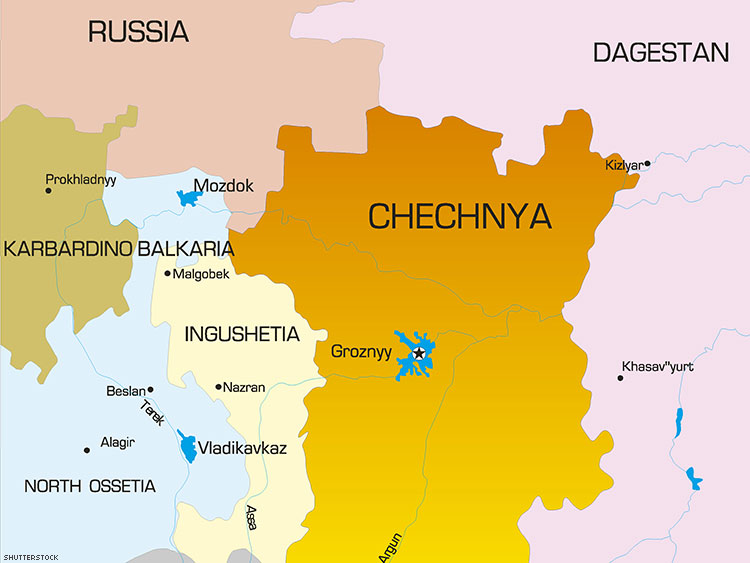 Human Rights Group Hopes to Evacuate Gay Men From Chechnya
