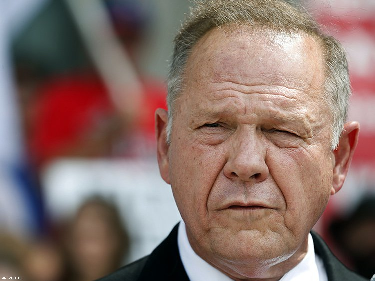 Alabama Supreme Court upholds Chief Roy Moore's suspension