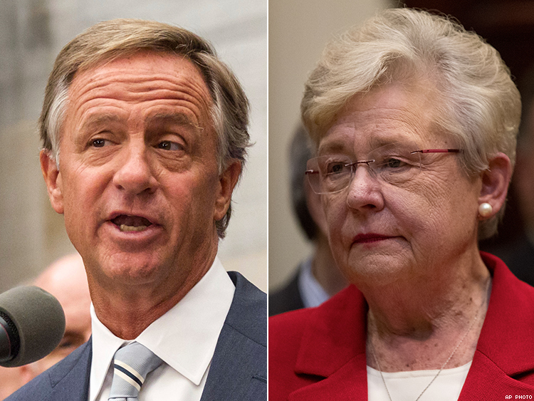 Bill Haslam and Kay Ivey