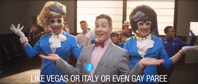 Randy Rainbow and Orbitz