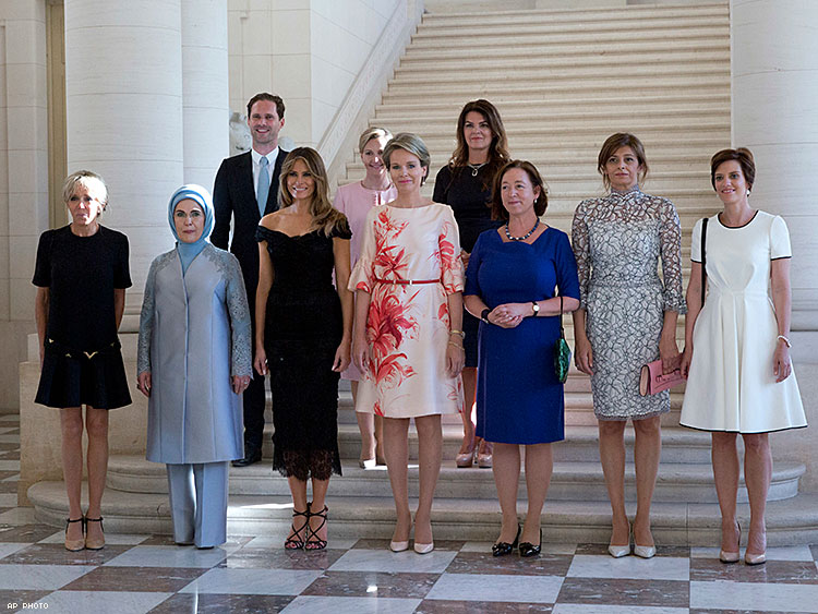 Luxembourg's 'First Gentleman' Gloriously Photographed With Partners Of World Leaders