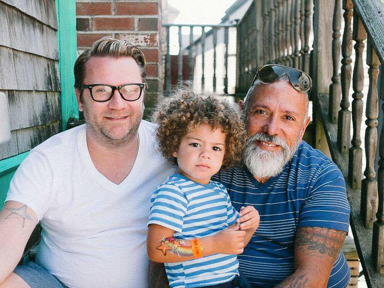 Gay dads pictures