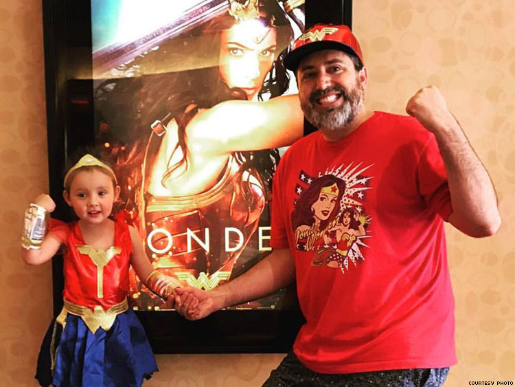 Wonder Woman and my little princess