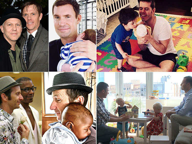 This Sunday, give a big Father's Day hug to Ricky Martin, Neil Patrick  Harris, and Perez Hilton — as well as the rest of our highest-profile gay  dads.