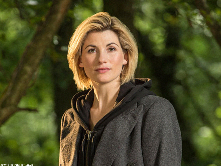 The next Dr Who is female