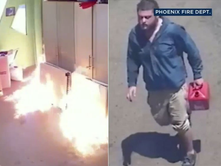 Police arrest man suspected of setting Phoenix LGBTQ center on fire