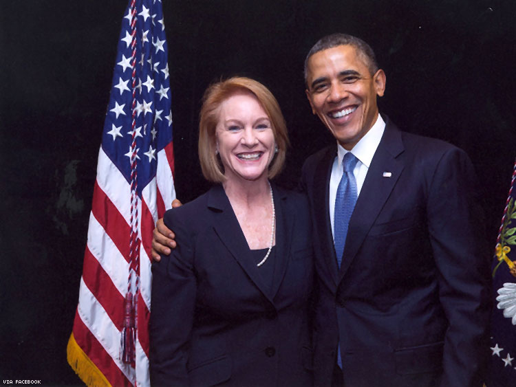 Jenny Durkan with President Obama