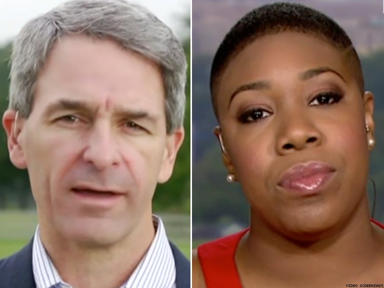 Watch Republican Trump Supporter Ken Cuccinelli Tell Symone Sanders To 'Shut Up&#39