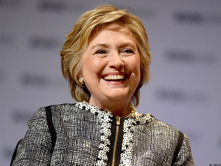 Clinton Writes of Devastating Choice to 'Remain Calm' While Trump Stalked Her