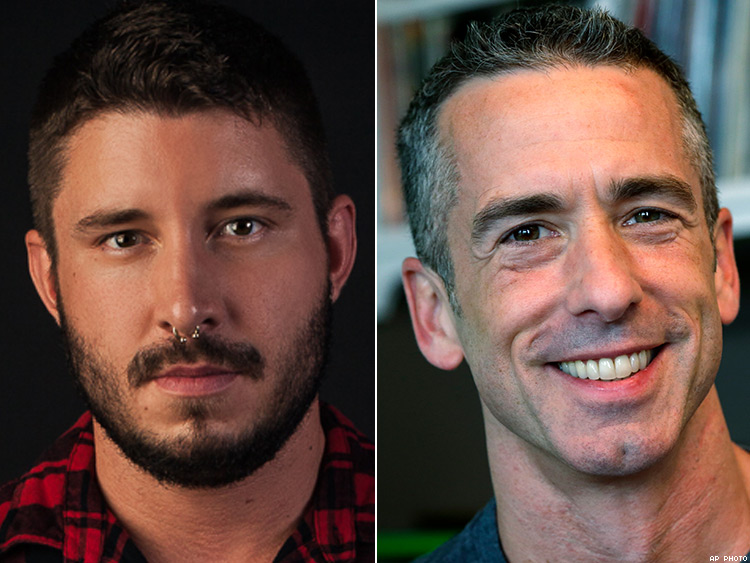 Alex Cheves and Dan Savage