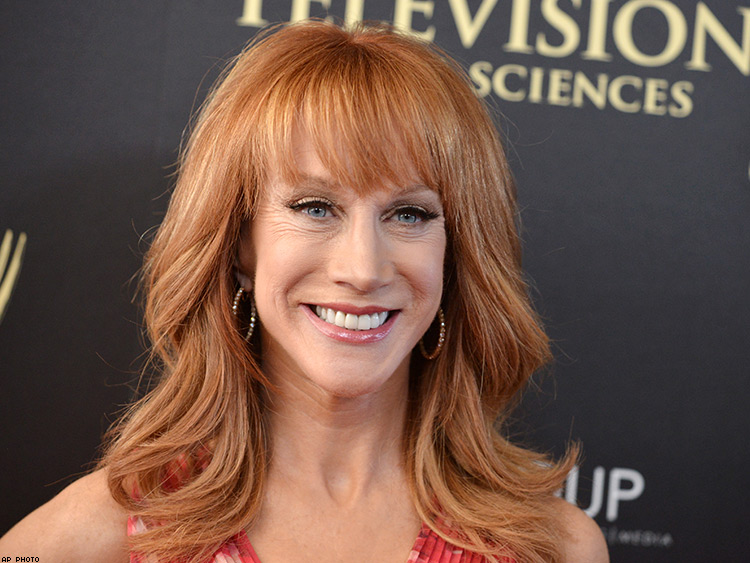 Kathy Griffin announces 'Laughing Your Head Off' world tour