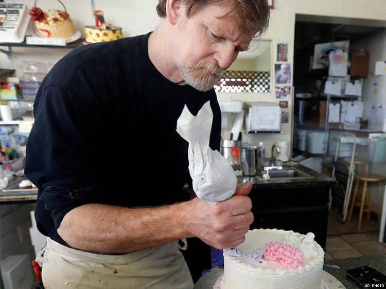 Justice Department files brief supporting anti-LGBTQ baker in Supreme Court case