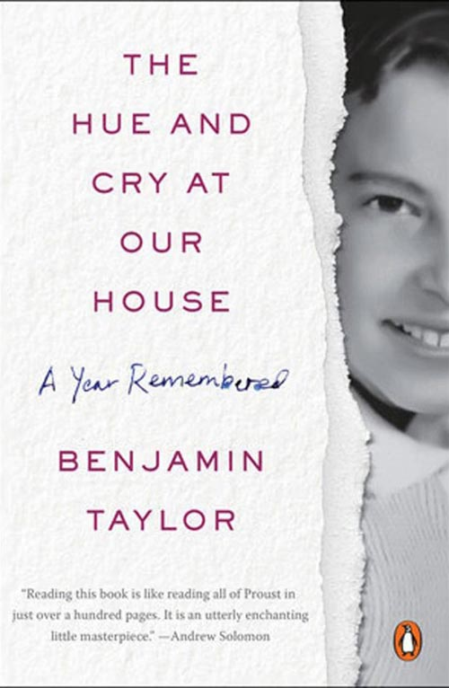 01 A Cry And Hue At Our House By Benjamin Taylor