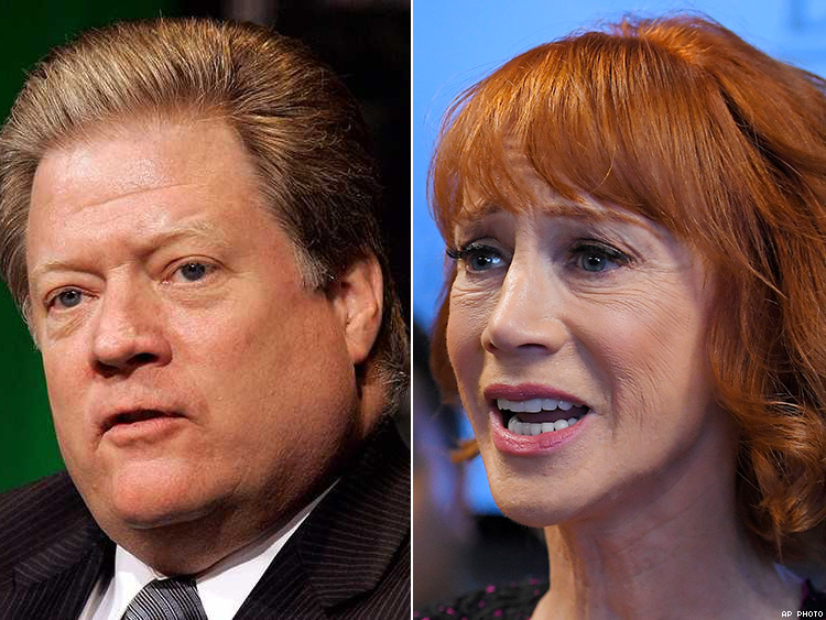 Executive's Sexist Rant at Kathy Griffin Prompts Backlash
