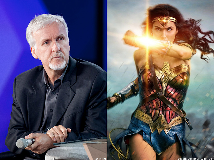 Original 'Wonder Woman' actress tells 'thuggish' James Cameron to 'stop dissing' reboot
