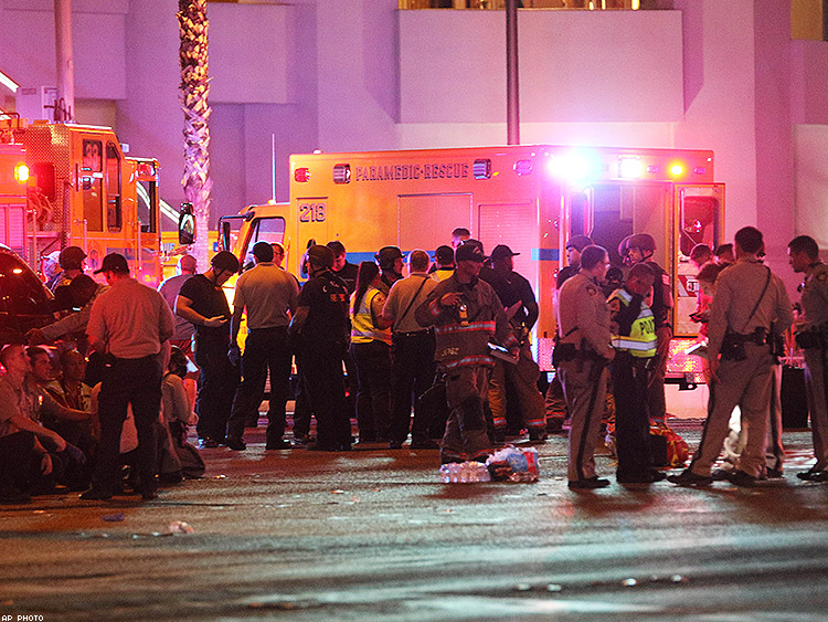 In the Las Vegas concert shooting, survivors were also the first responders