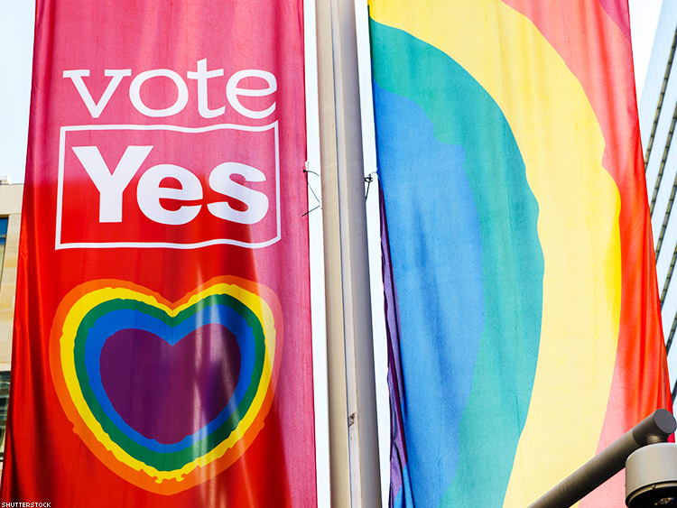 Votes for Marriage Equality Have Solid Lead in Australia