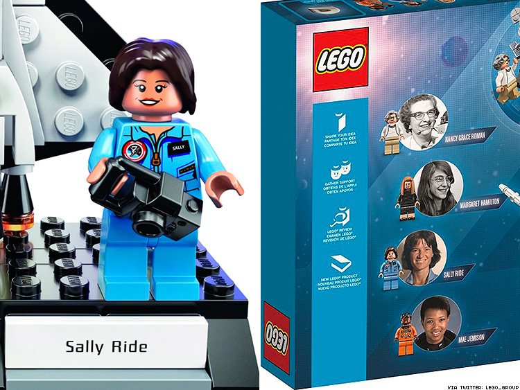 Lego Honors Sally Ride and Other 'Women of NASA'