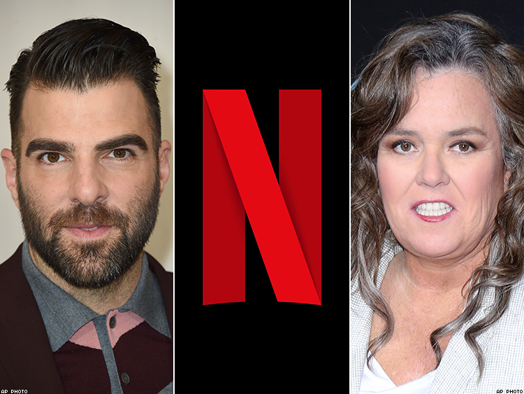 Zachary Quinto, Netflix, Rosie O'Donnell